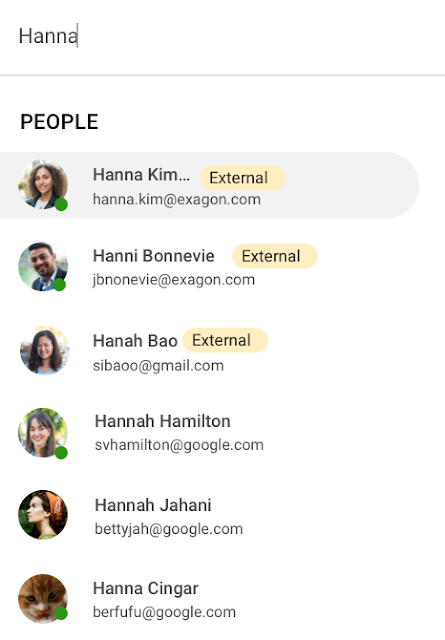Google Chat External