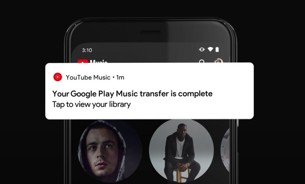 YouTube Music Transfer Complete