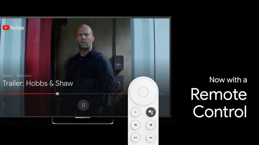 Google Android TV Sabrina Remote