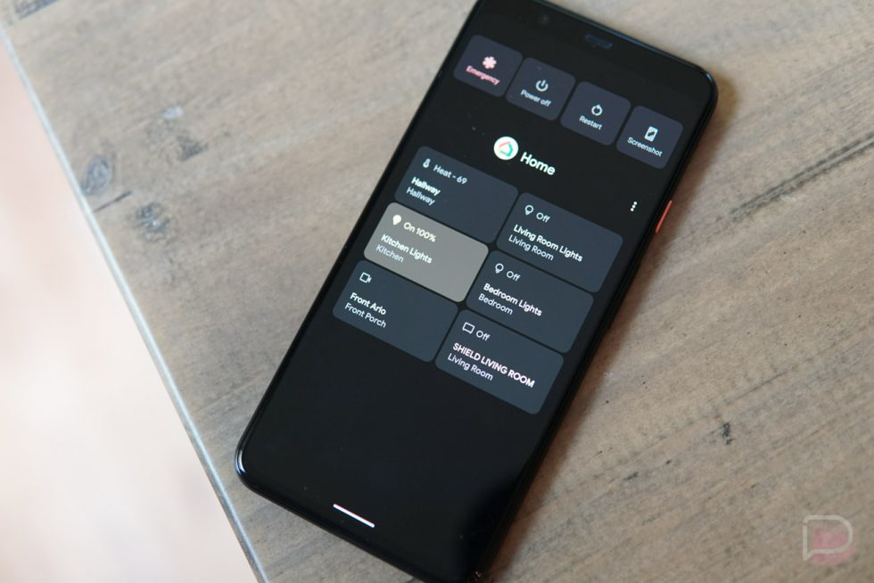 Android 11's New Power Button Quick Controls Go Live Thanks to Home App