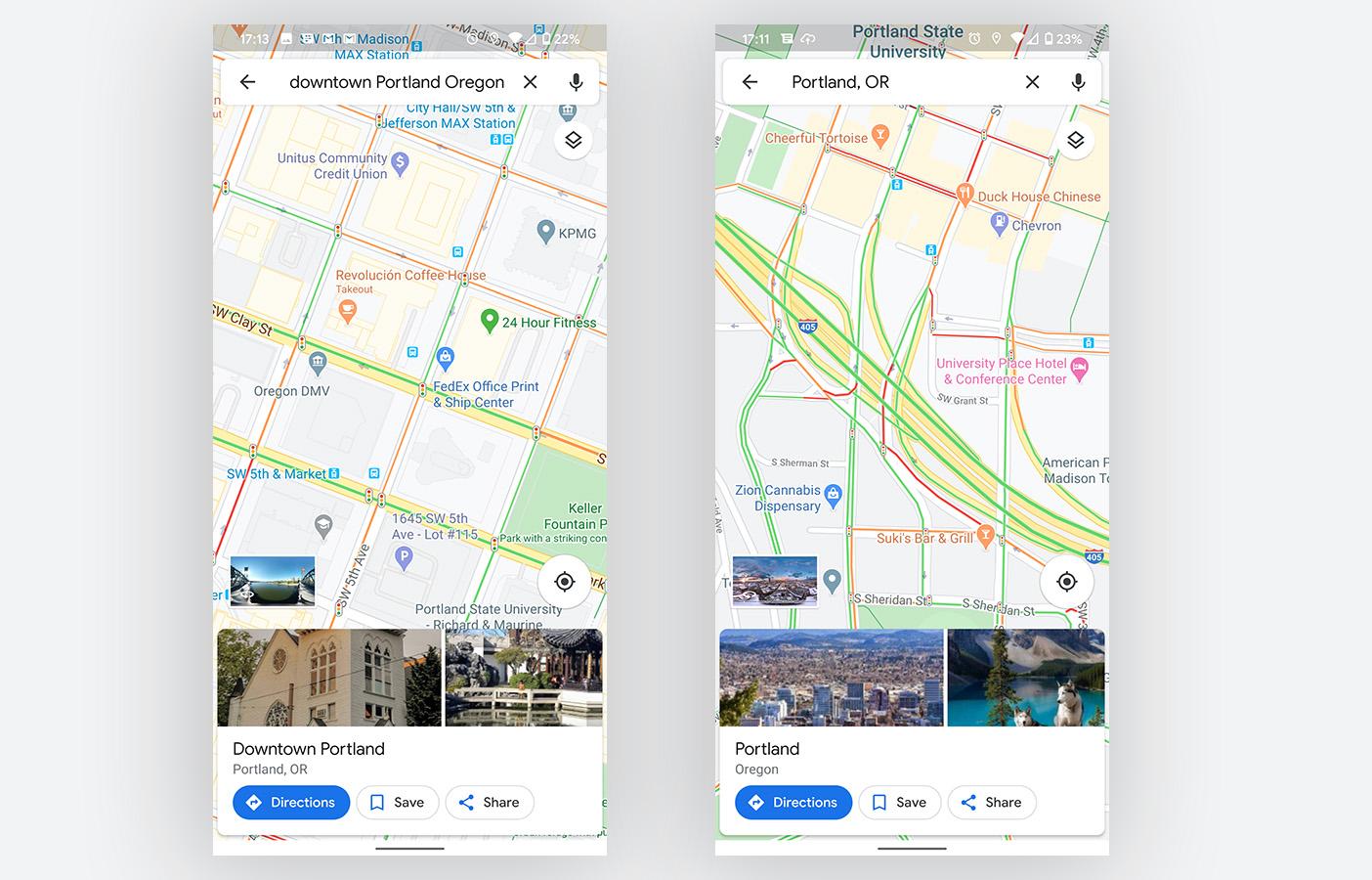 Google Maps Light