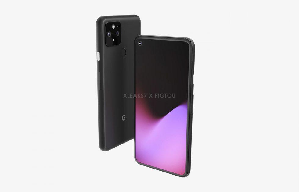 Supposed Pixel 5 Renders Show a Familiar Phone Design, Fingerprint Reader