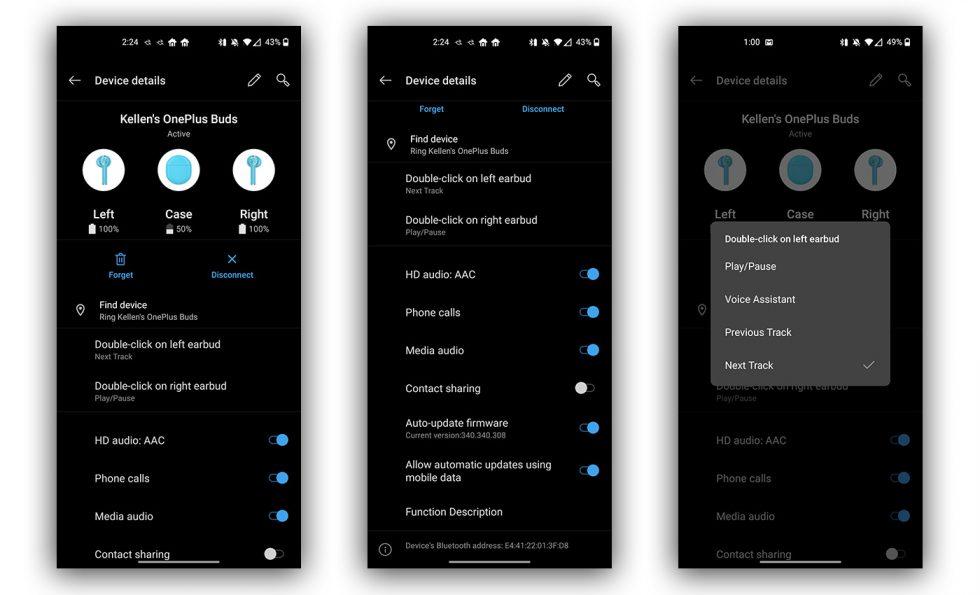 OnePlus Buds App