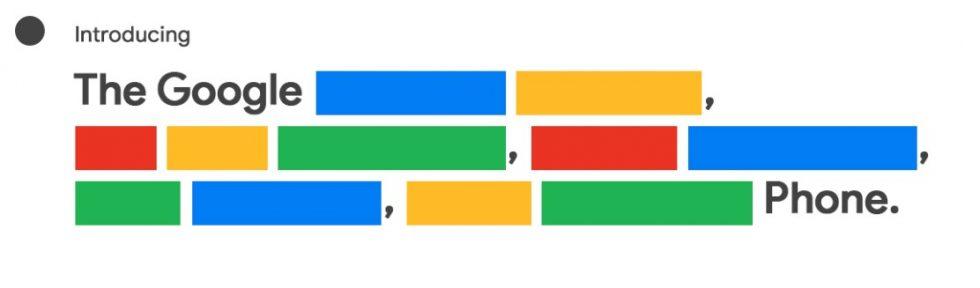 Pixel 4a Tease