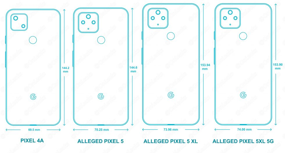 Pixel 5 CAD renderer
