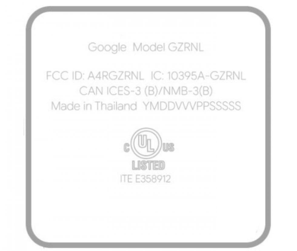 Google Android TV FCC Sabrina