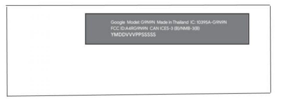 Google Android TV Remote FCC Sabrina