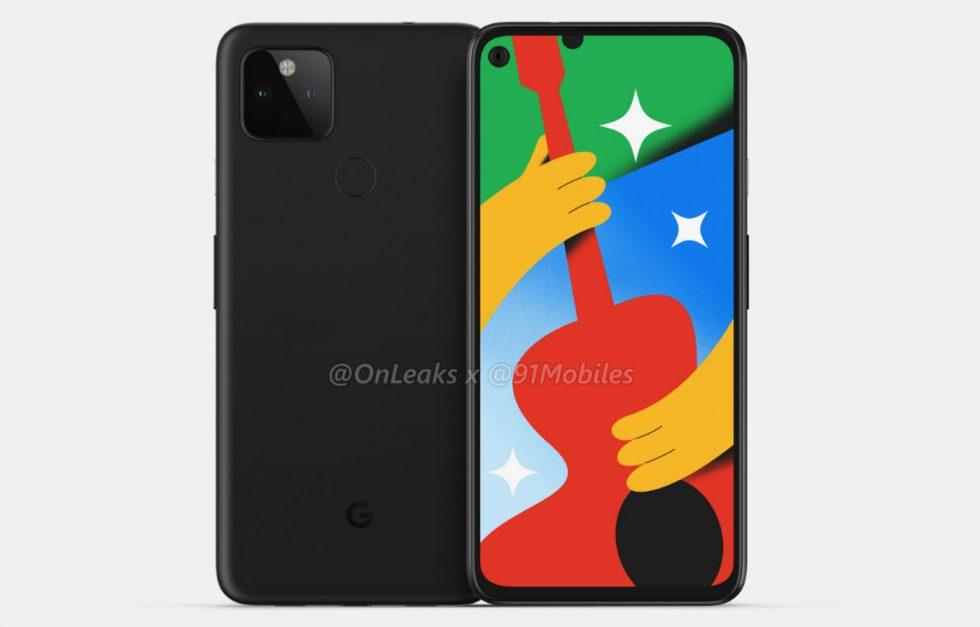 Google Pixel 4a 5G CAD