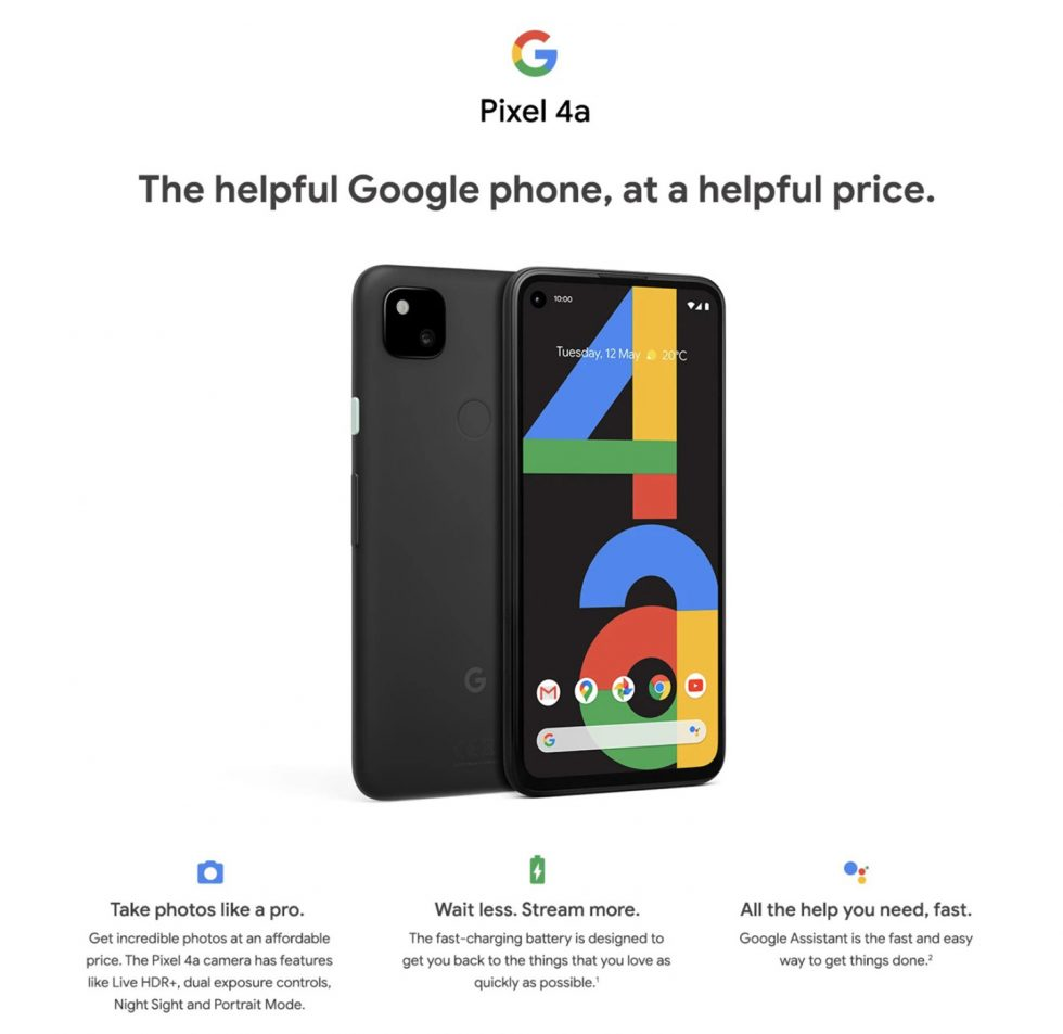Pixel 4a Helpful