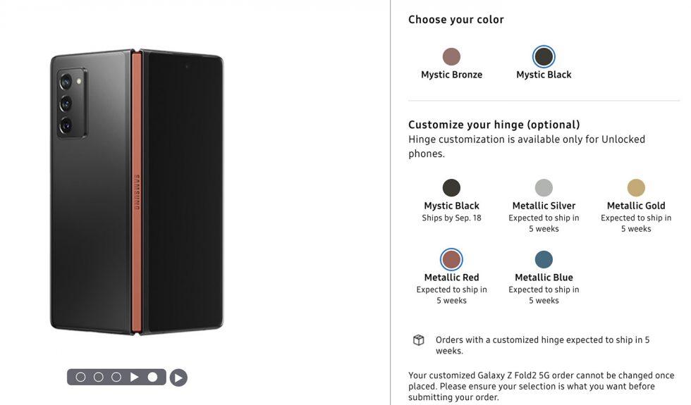 Custom Galaxy Z Fold 2