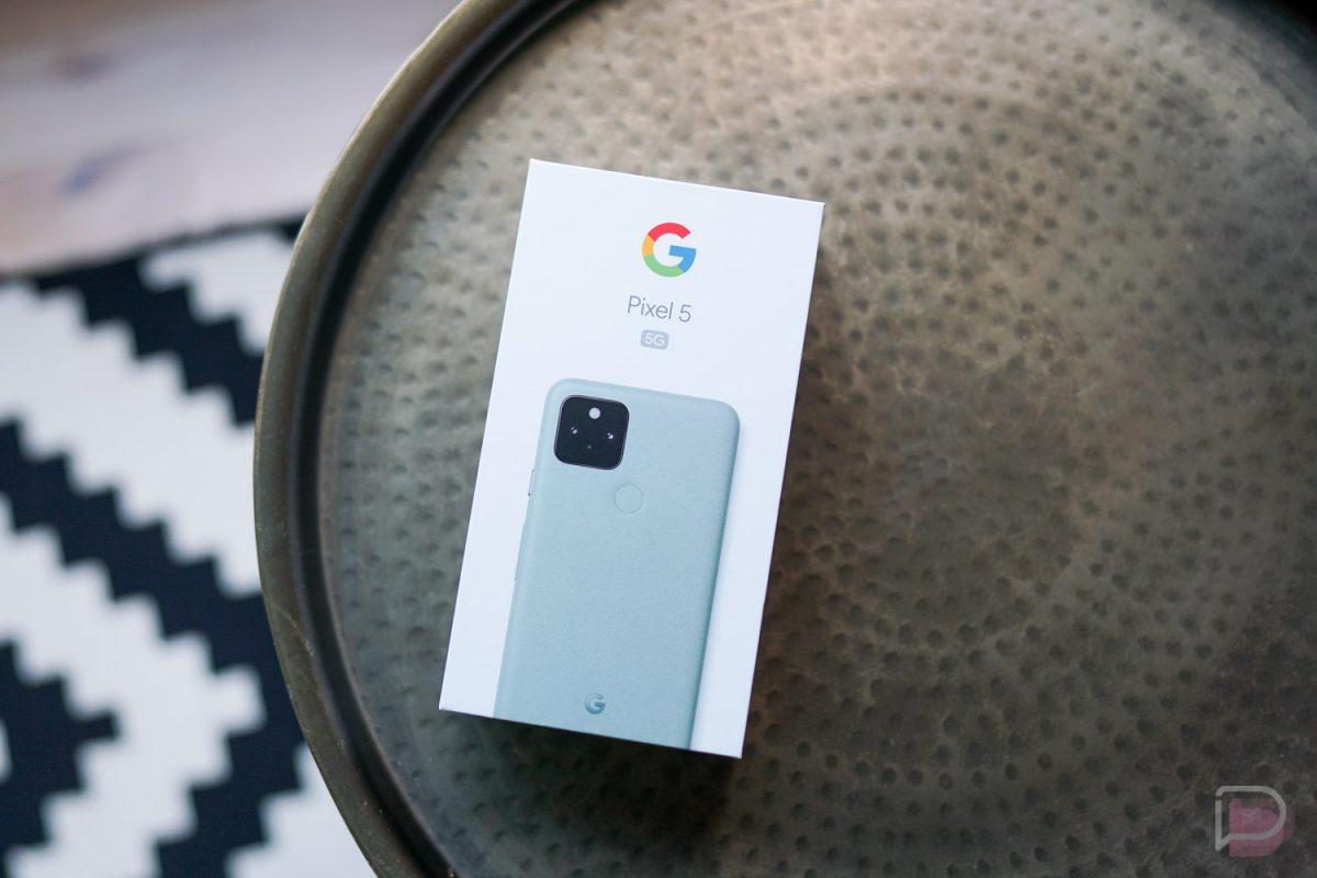 Google Pixel 5 Box 2