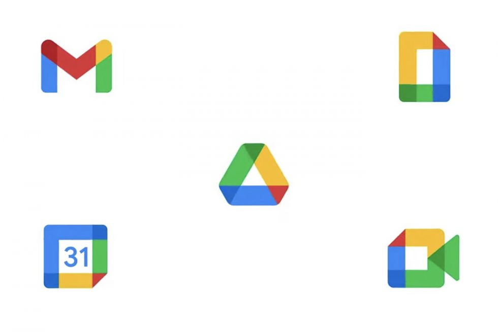 New Google Workplace Icons