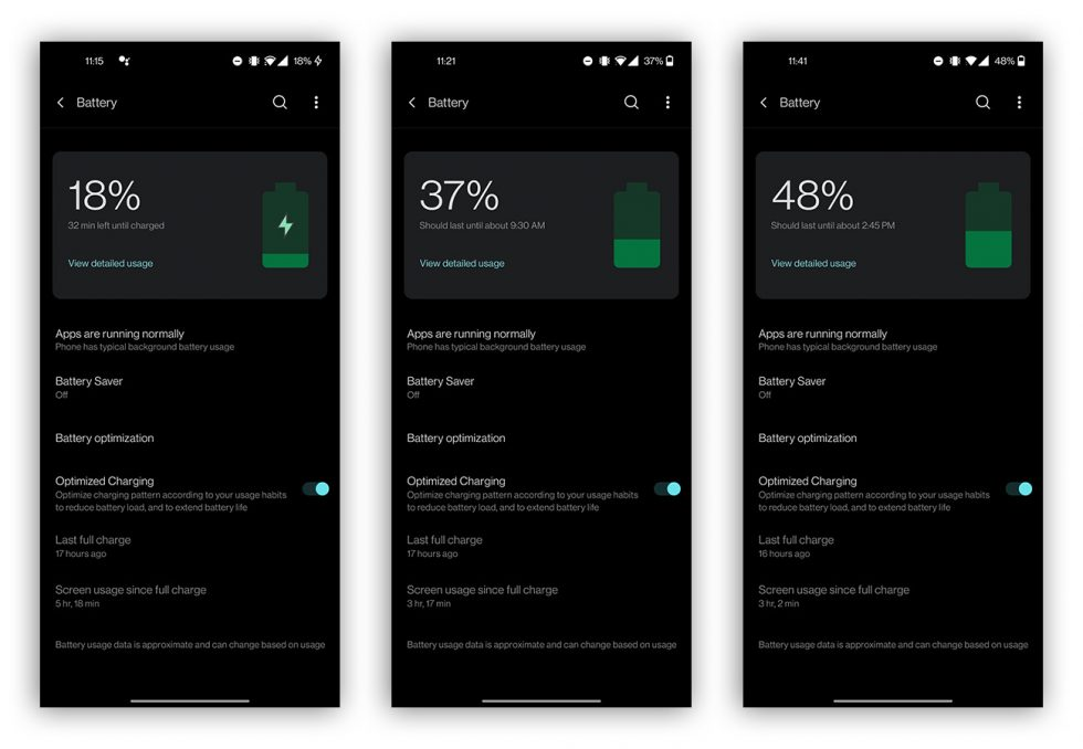 OnePlus 8T Battery