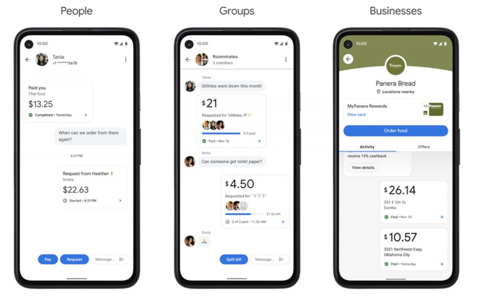 Google Pay Messenger