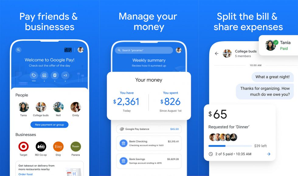 New Google Pay App