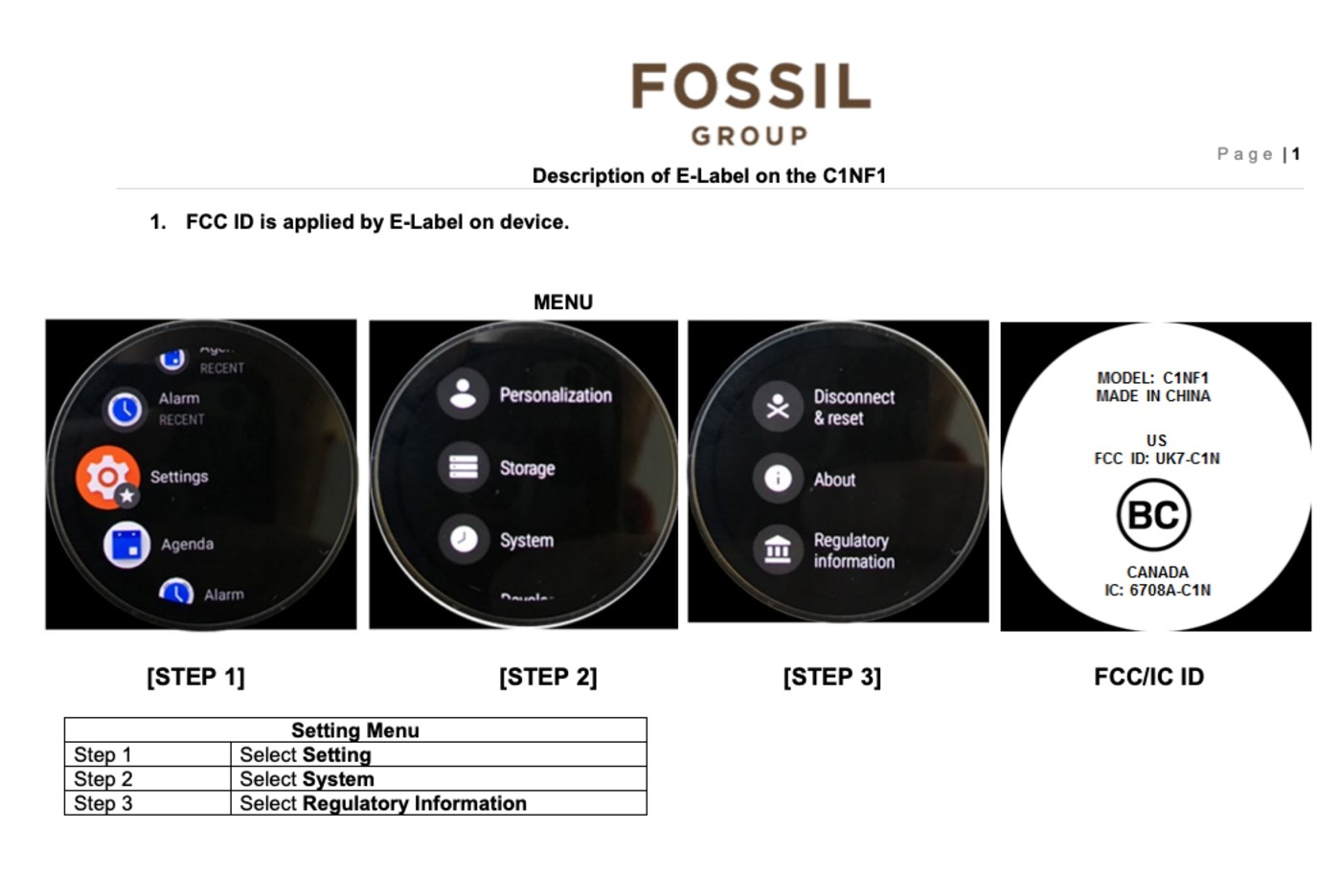 Fossil's first LTE smartwatch spotted in FCC filings