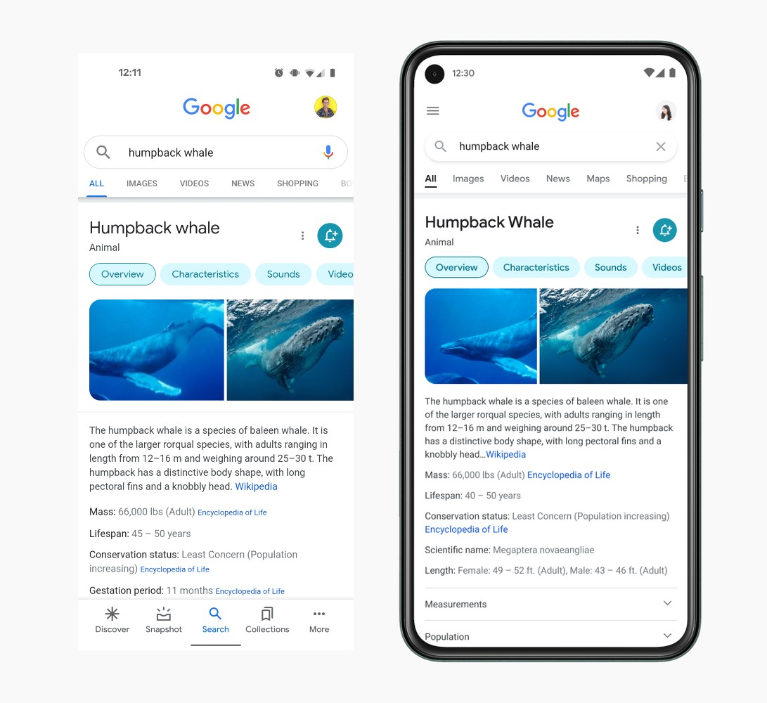 Big Google Search UI Changes Inbound for Mobile