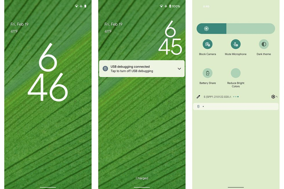 Android 12 Wallpaper Theme Monet