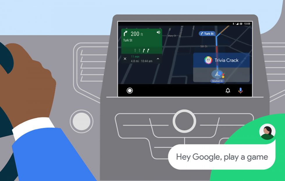 Android Auto Play Game