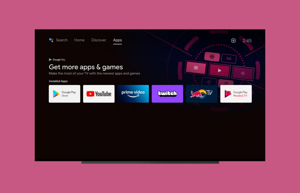 New Android TV Home