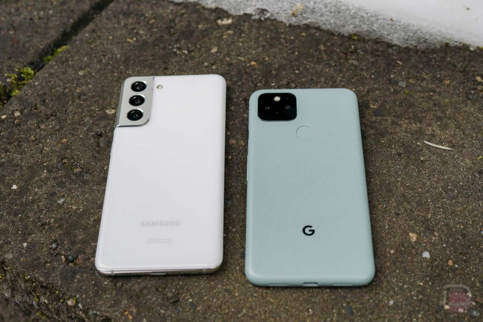 Sorry Galaxy S21, I'm Sticking With the Pixel 5