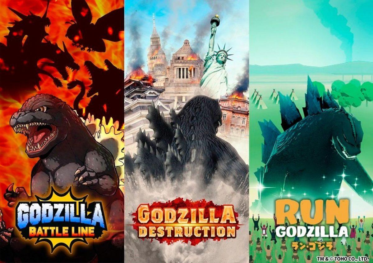 Godzilla Games