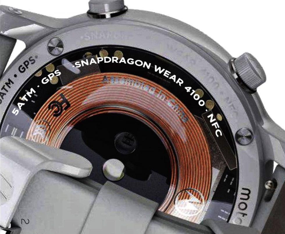 Moto 4100 Clock
