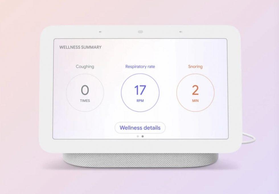 Nest Hub Sleep Tracking