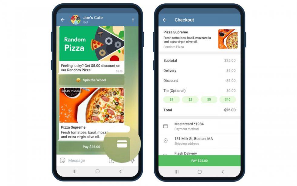 Telegram Payments 2.0