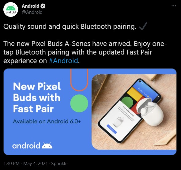 Pixel Buds A Announced