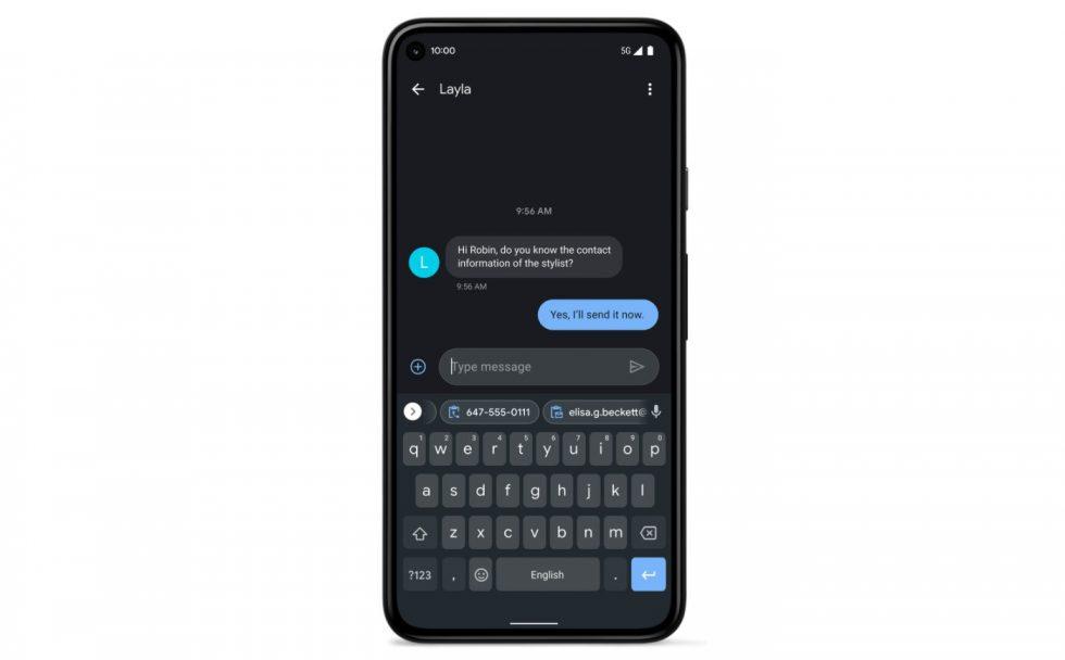 Gboard Pixel Feature