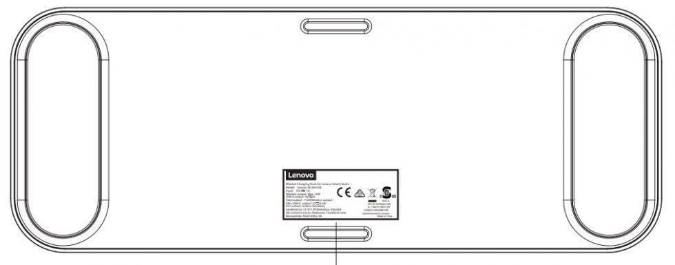 Lenovo Smart Clock Wireless Charger