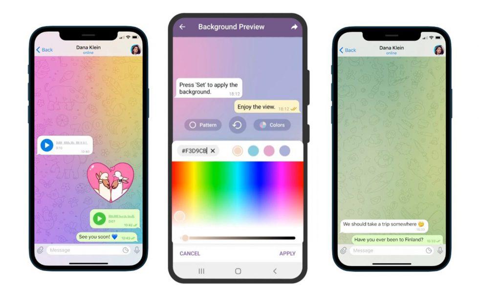 Telegram Animated Backgrounds