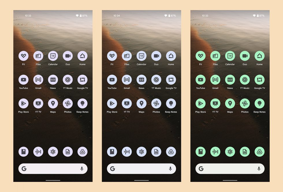 Android 12 Icons
