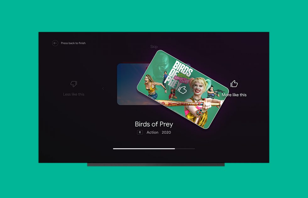 Android TV Recommendations