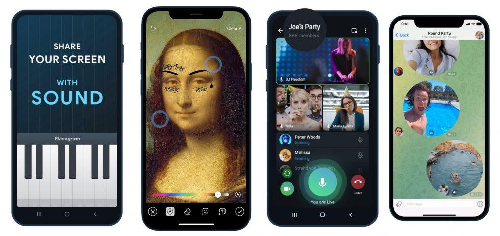 New Telegram Features