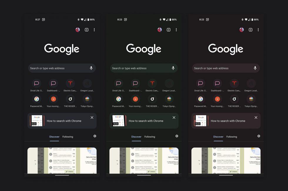 Material de Chrome Beta
