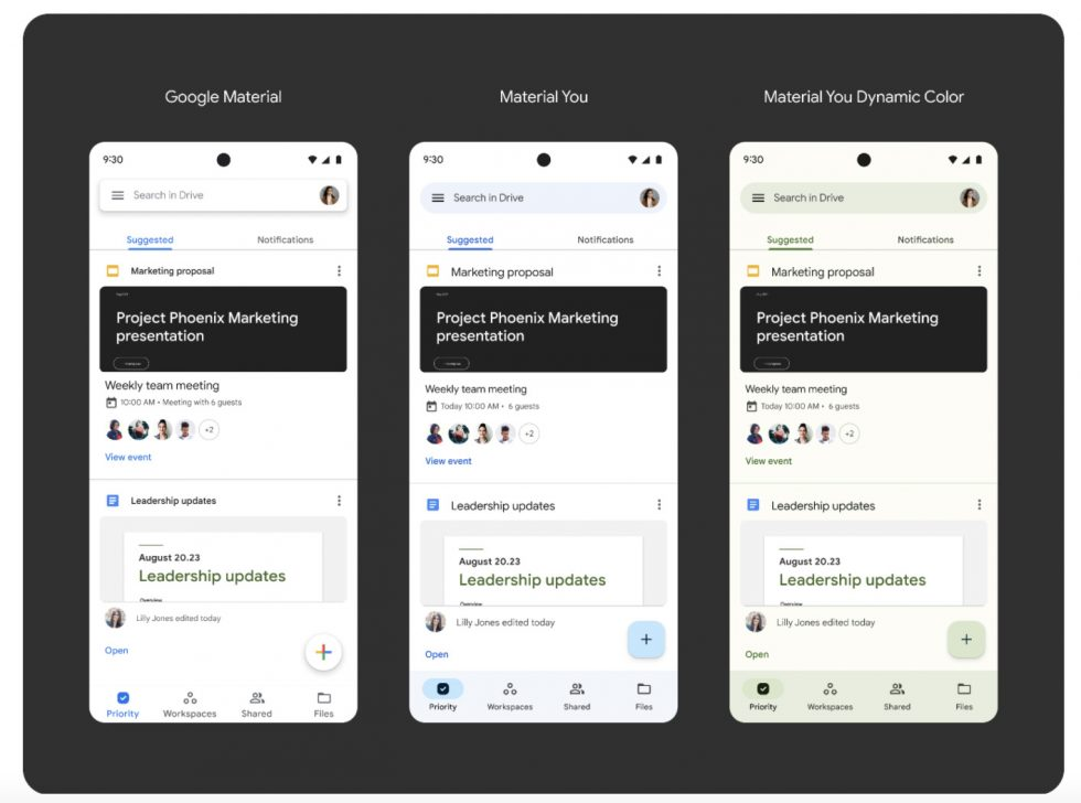 Google Drive Material You