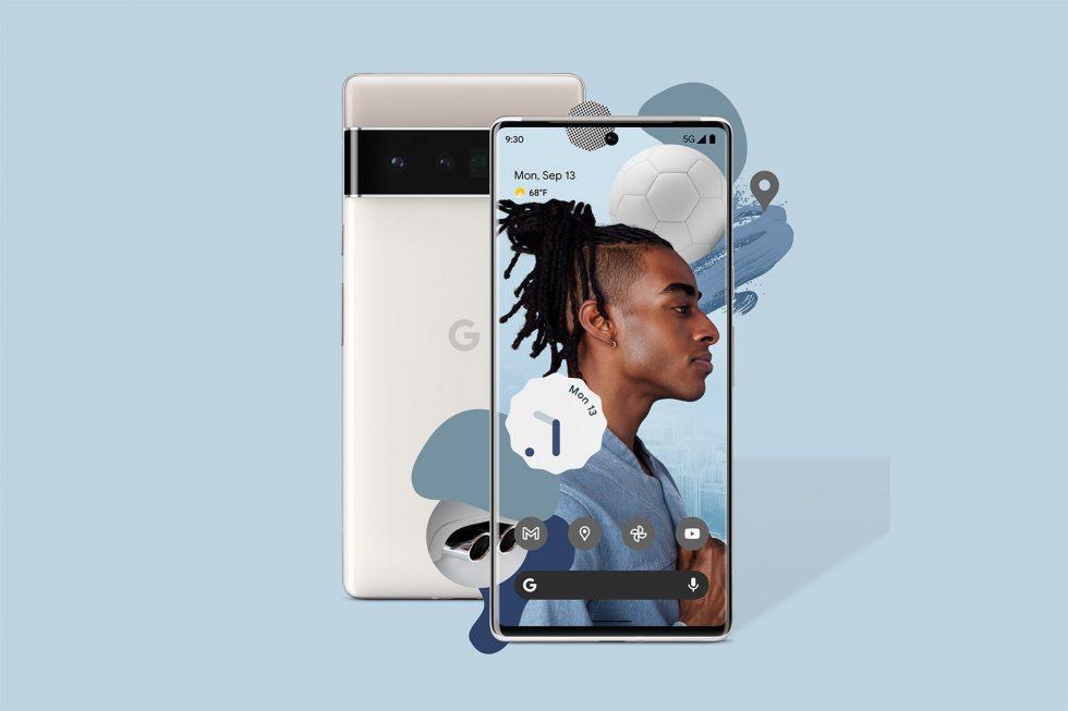 Google Pixel 6 Pro Silver