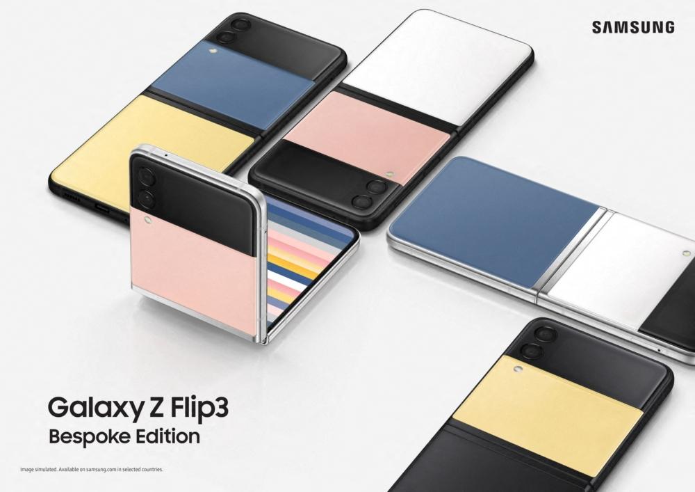 Samsung Intros Bespoke'd Galaxy Z Flip 3, Kitsuné Galaxy Watch 4 and Buds 2
