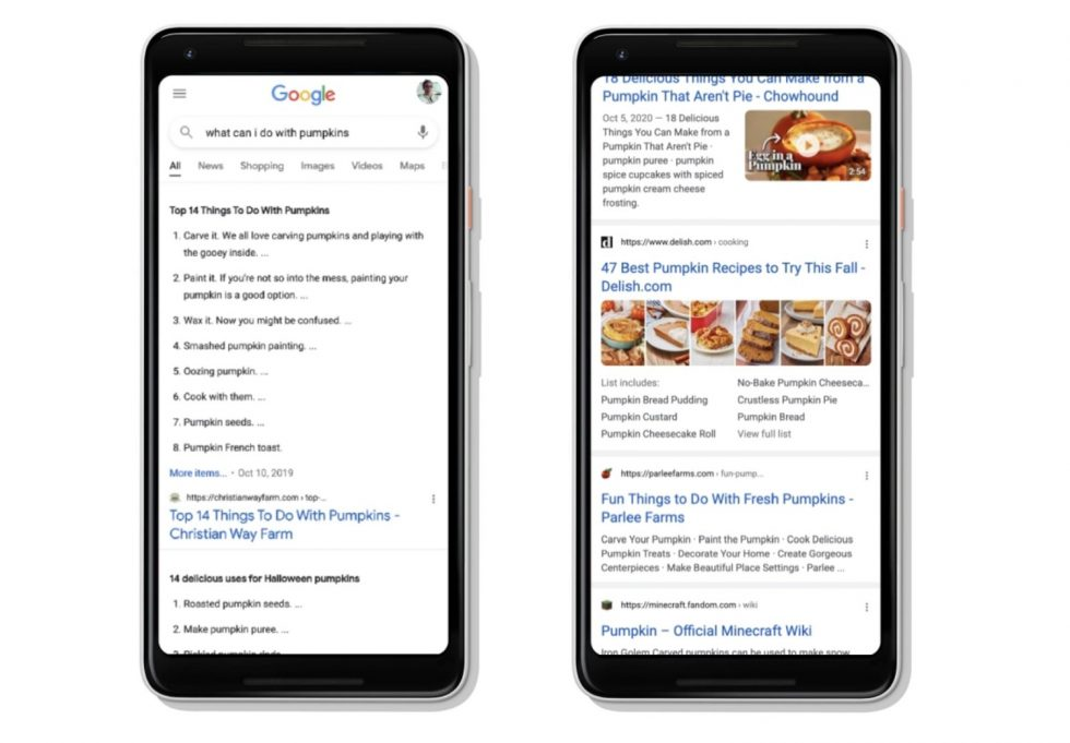 Google Search Results on Mobile Will Now Keep Going… and Going… and Going