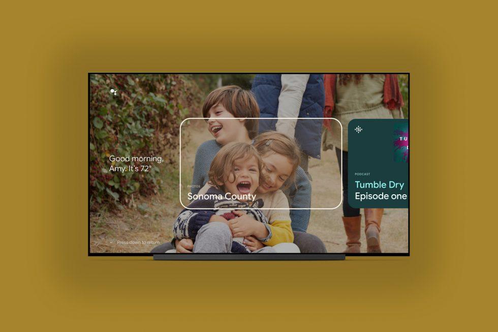 Google TV Ortam Modu